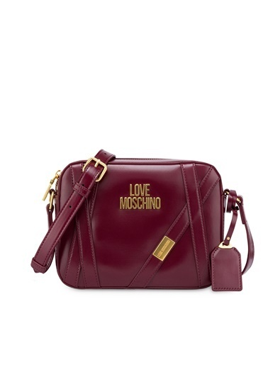 Love Moschino Messenger / Askılı Çanta Bordo